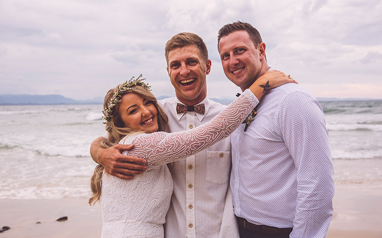 Awesome Byron Bay Beach Elopement - Hitched in Paradise
