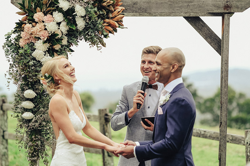 Benjamin Carlyle fun Marriage Celebrant - Byron Bay Wedding