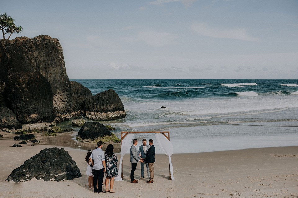 Dreamtime Beach Gay Weddings - Hitched in Paradise - Tweed Coast Elopement