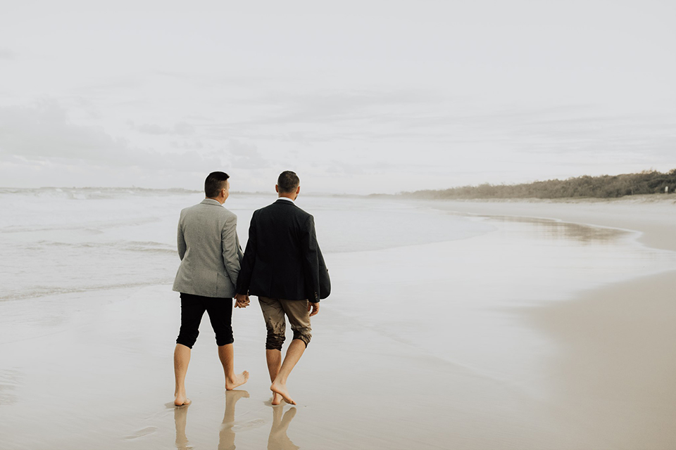 Hitched In Paradise - Byron Bay Elopements - Dreamtime Beach