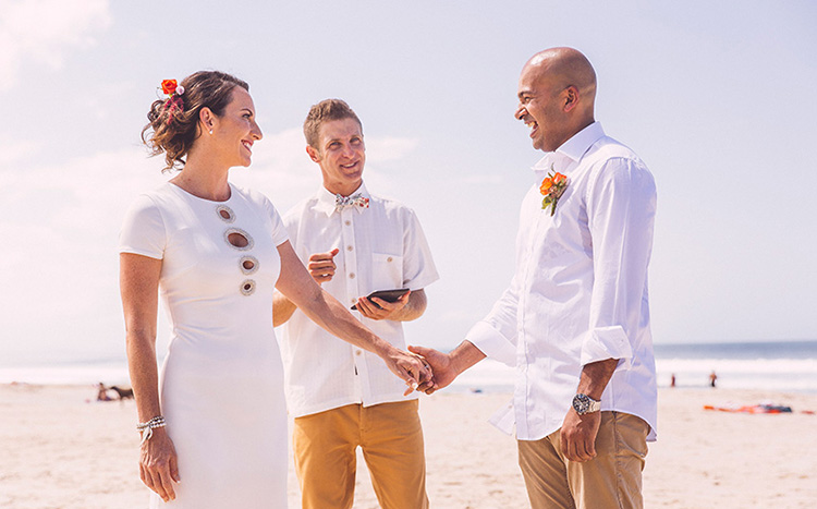 Byron Bay Beach Elopement - Hitched In Paradise - Benjamin Carlyle