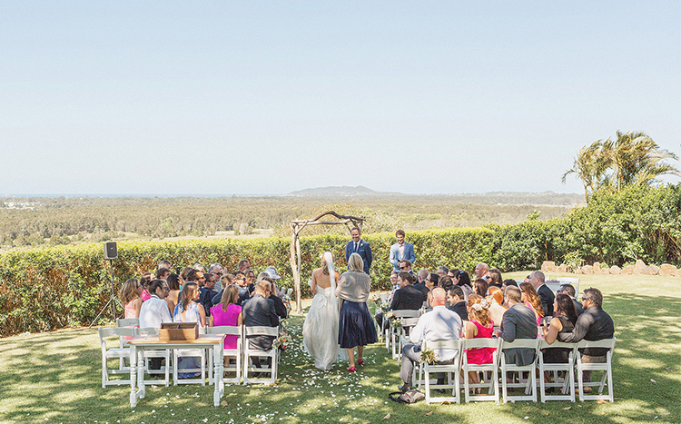 Figtree Restaurant Wedding - Byron Bay Marriage Celebrant