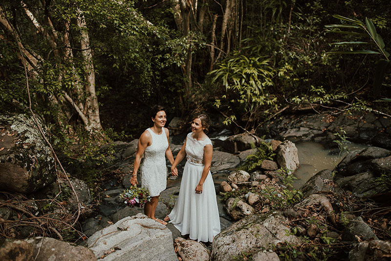 Laura & Courtney - Gold Coast Wedding - Carly Tia Photography