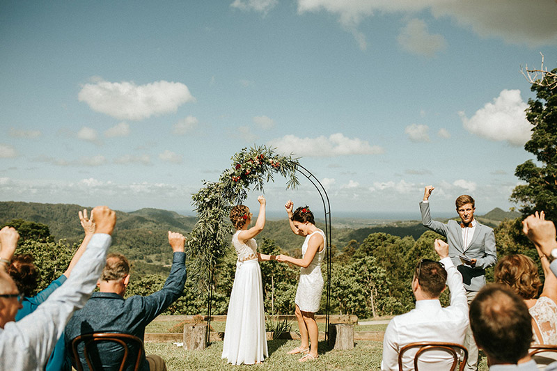 Benjamin Carlyle fun Wedding Celebrant - Byron Bay
