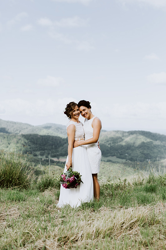 Laura & Courtney - Tweed Coast Wedding - Carly Tia Photography