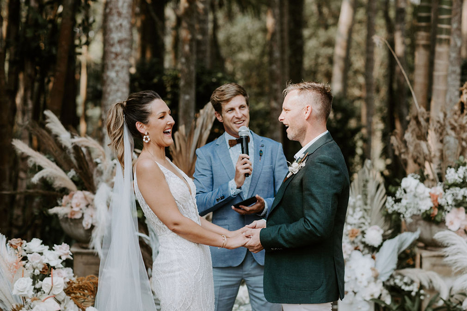 Benjamin Carlyle Celebrant - Byron Bay Weddings - Newrybar Downs