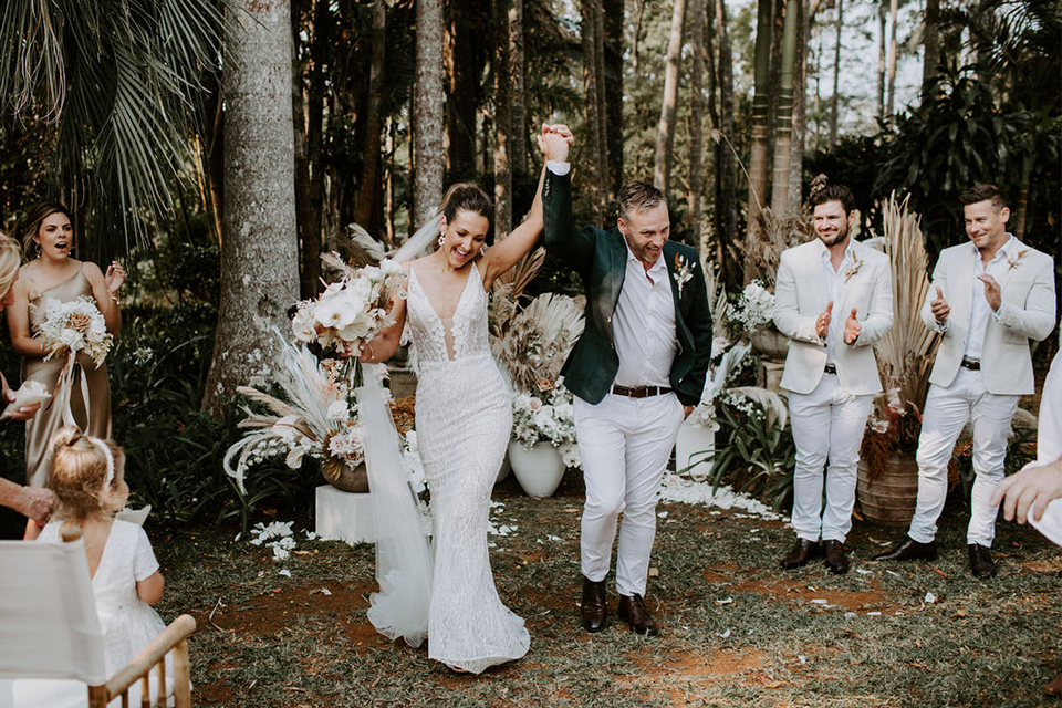 Byron Bay Fun Wedding - Benjamin Carlyle
