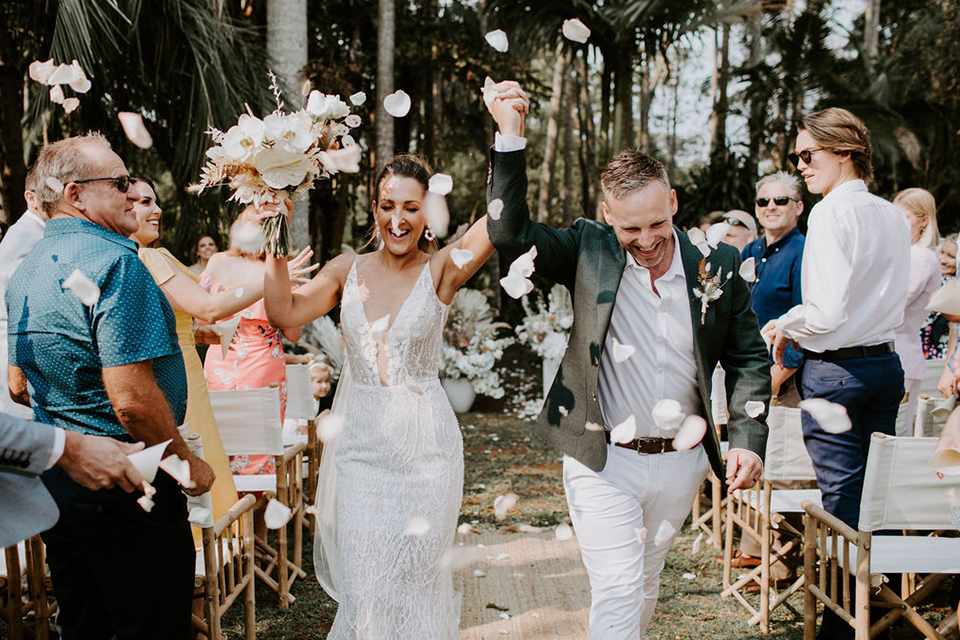 Byron Bay Fun Wedding - Benjamin Carlyle - Newrybar Downs