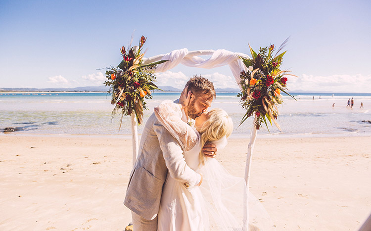 Byron Bay Elopement - Hitched In Paradise - Benjamin Carlyle