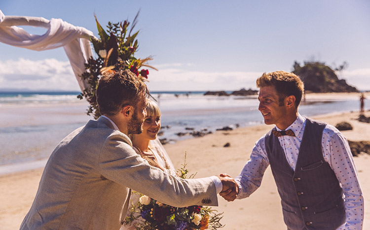 Byron Bay Beach Elopement - Benjamin Carlyle Marriage Celebrant