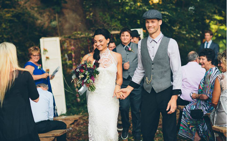 Ewingsdale Hall Wedding, Byron Bay - Ricky & Drew