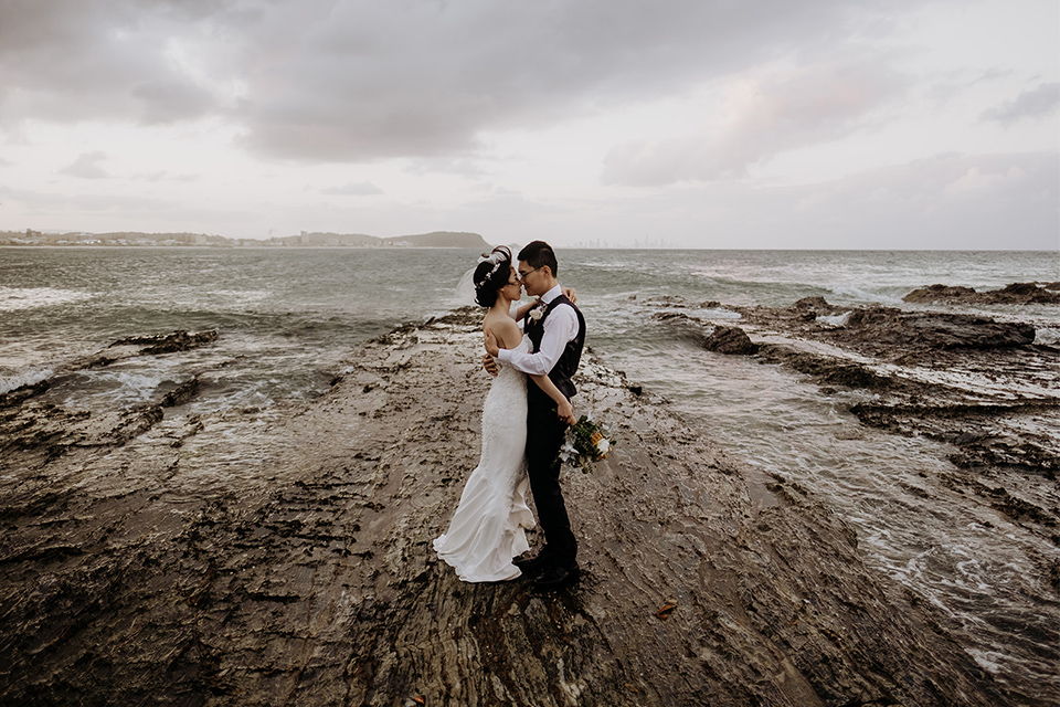 Currumbin Beach Elopement - Hitched In Paradise - Gold Coast Wedding
