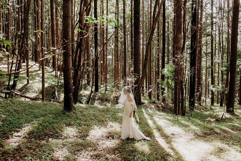 Currumbin Valley Elopement - Gold Coast Wedding - Hitched In Paradise - First Look
