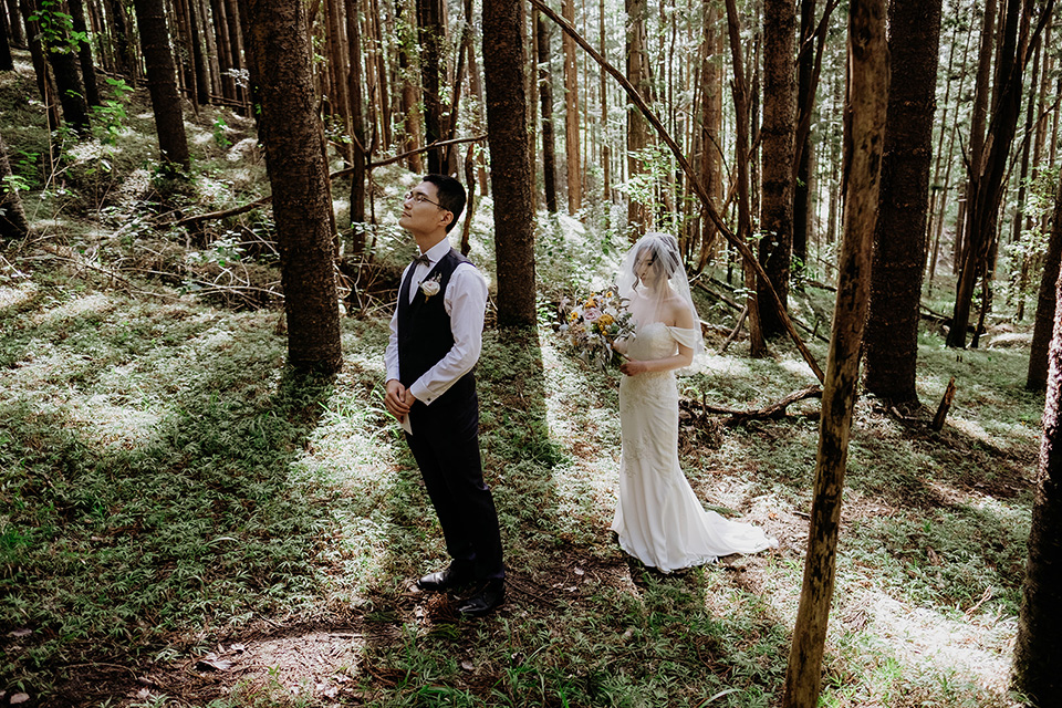 Currumbin Valley Elopement - Gold Coast Weddings - Hitched In Paradise - First Look