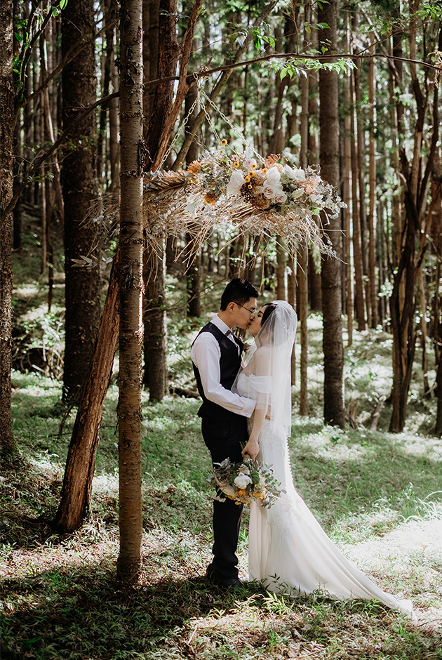 Tweed Coast Elopement - Hitched In Paradise - HInterland Weddings