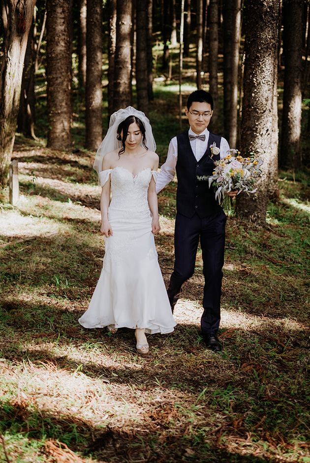 Byron Bay Elopements - Hitched In Paradise - HInterland Weddings