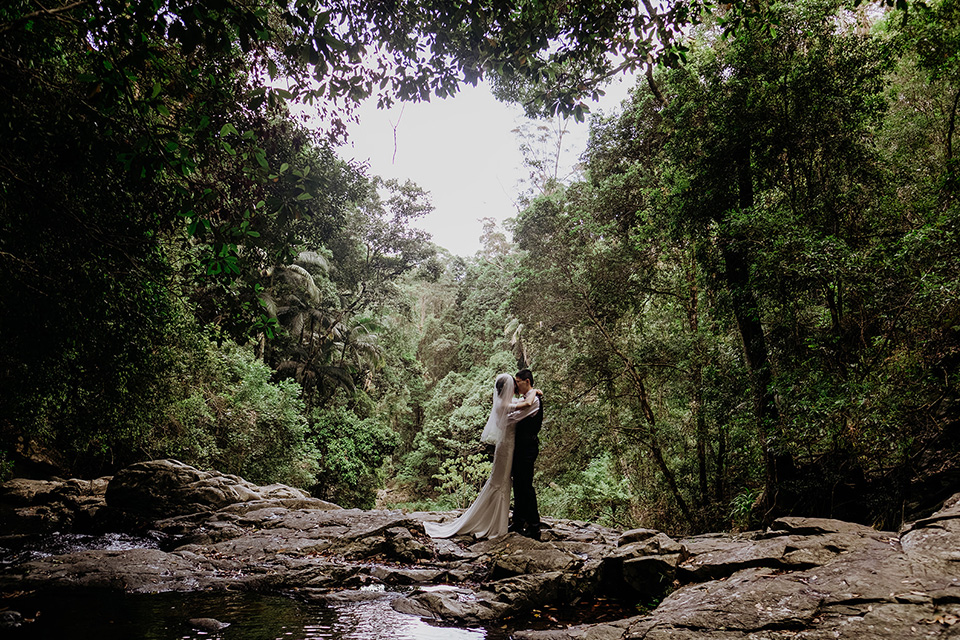 Tweed Coast Elopements - Hitched In Paradise - Rain Forest Wedding Vows