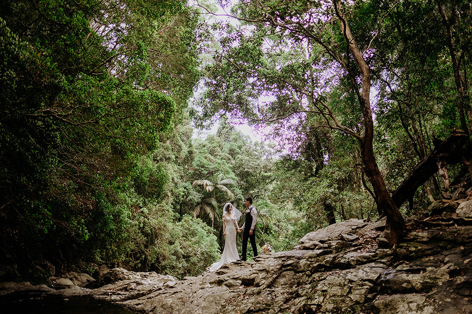 Hitched in Paradise -Gold Coast Elopements - Van Middleton Photgraphy