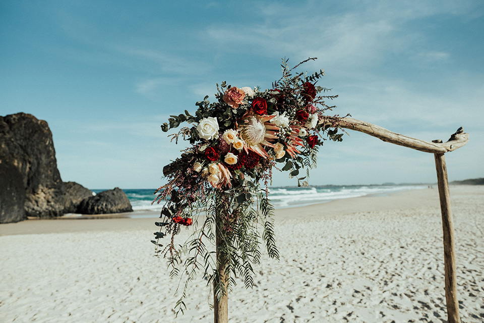 Tweed Coast Weddings - Hitched In Paradise Elopement - Fingal Beach
