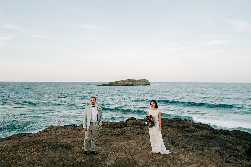 Steph & Mitch - Cook Island - Byron Bay Elopement
