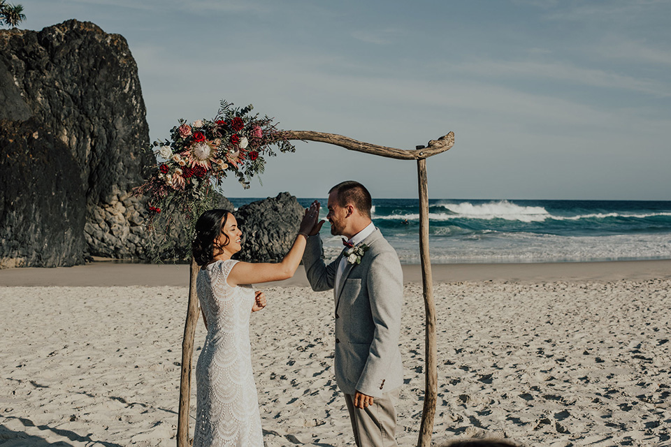 Tweed Coast Elopement - Mitch & Steph - Dreamtime Beach Wedding