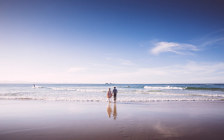 Byron Bay Beach Elopement - Blue Tulip Imaging