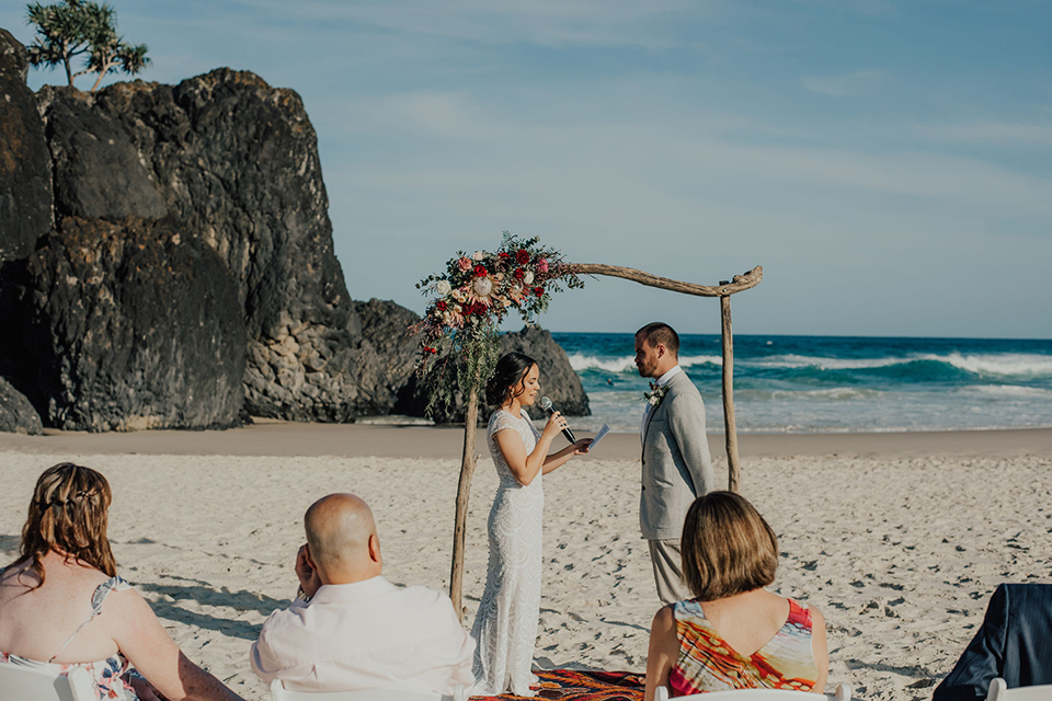 Tweed Coast Wedding Vows - Hitched In Paradise Elopement