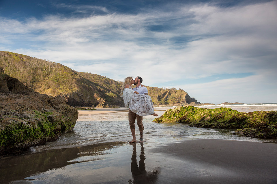 Byron Bay Beach Weddings - Hitched In Paradise Elopement