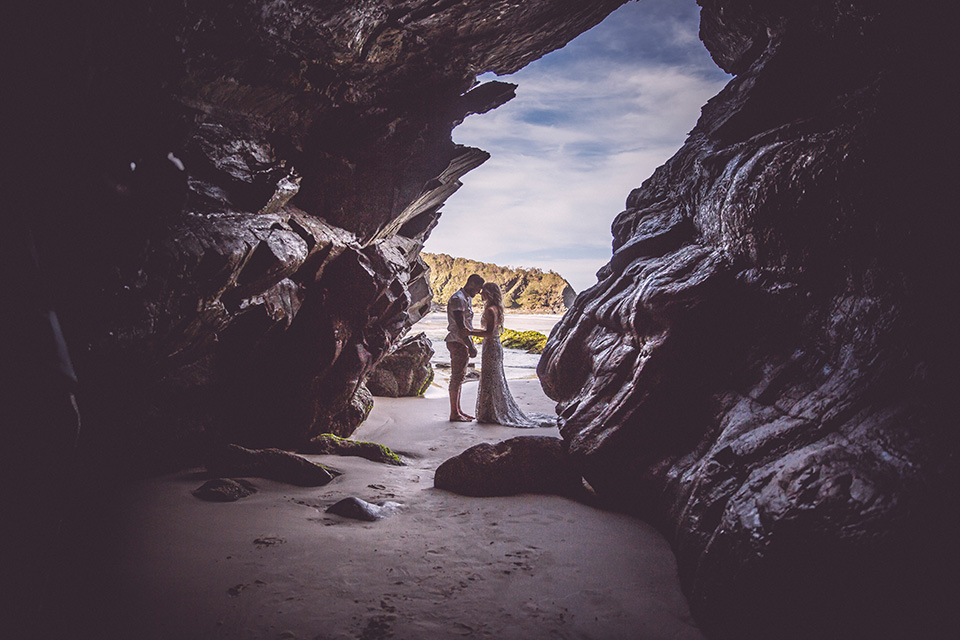 Byron Bay Elopement - Hitched In Paradise - Tim & Chantelle