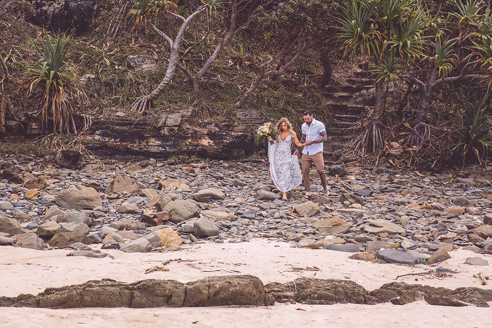 Byron Bay Elopements - Tim & Chantelle - Hitched In Paradise