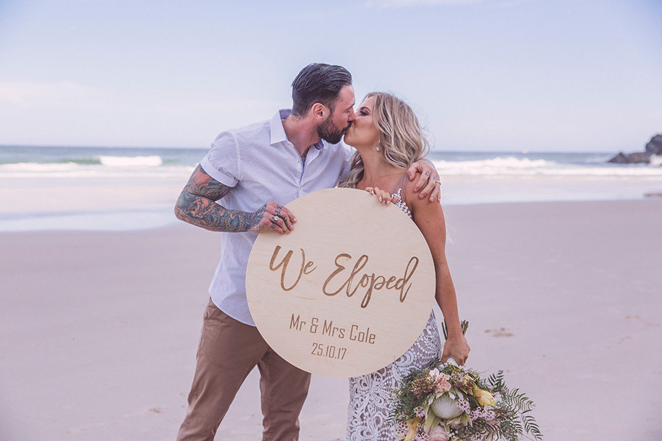 Byron Bay Elopement - Time & Chantelle - Hitched In Paradise