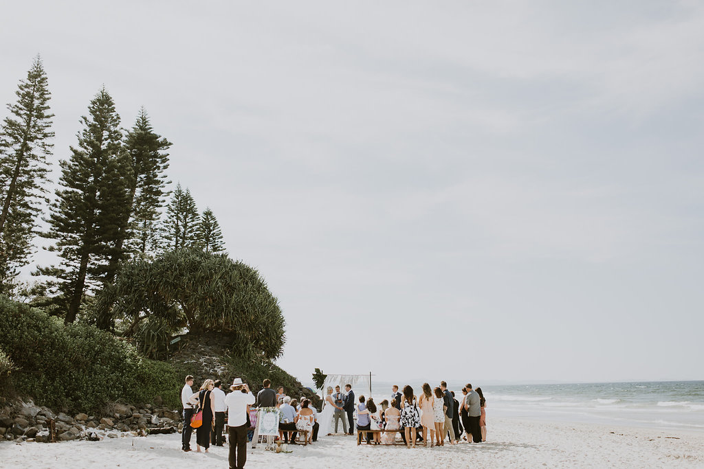 Belongil Beach Wedding - Byron Bay