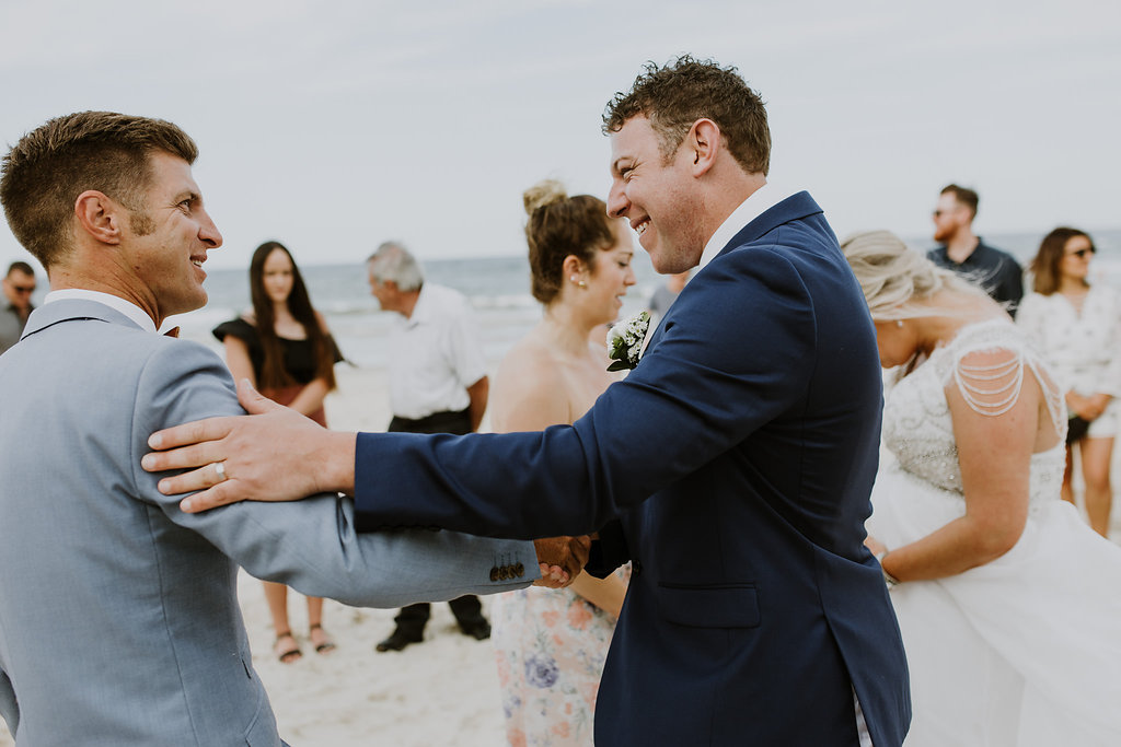 Byron Bay Wedding - Benjamin Carlyle male Marriage Celebrant
