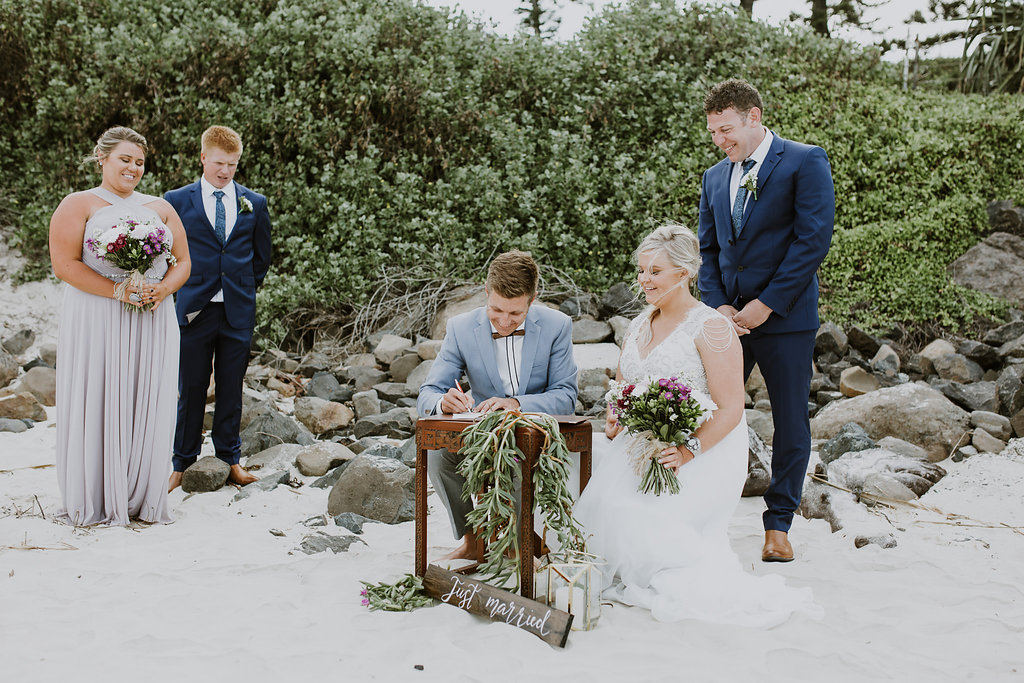 Byron Bay Wedding - Benjamin Carlyle fun Marriage Celebrant