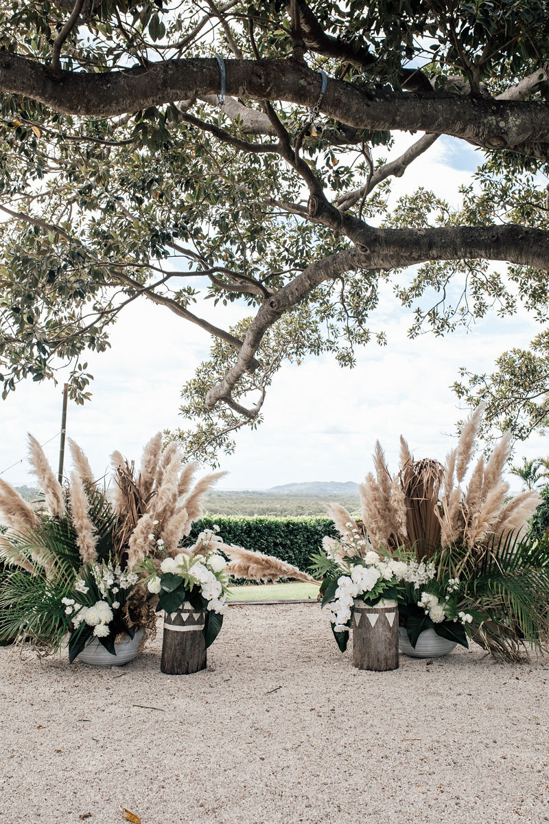 Figtree Restaurant - Byron Bay Wedding Ceremony