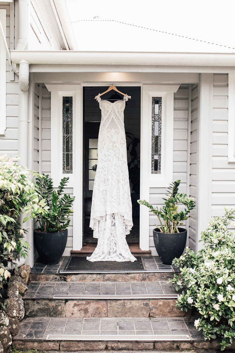 Figtree Restaurant - Byron Bay Wedding - Wedding Dress