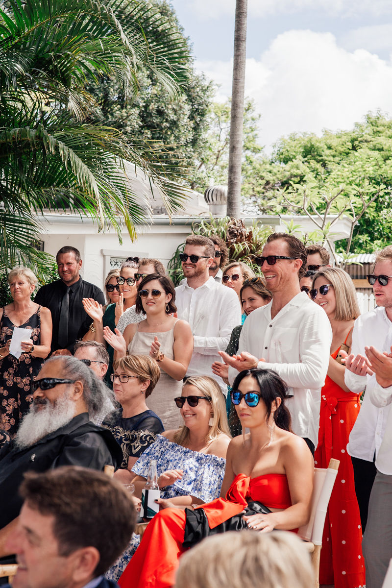 Byron Bay Wedding - Crowd Vibes - Tarsh & Steve