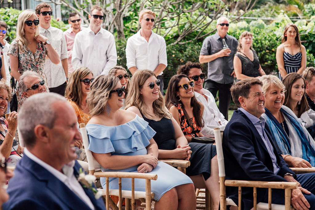 Byron Bay Wedding - Fun Crowd Vibes - Tarsh & Steve