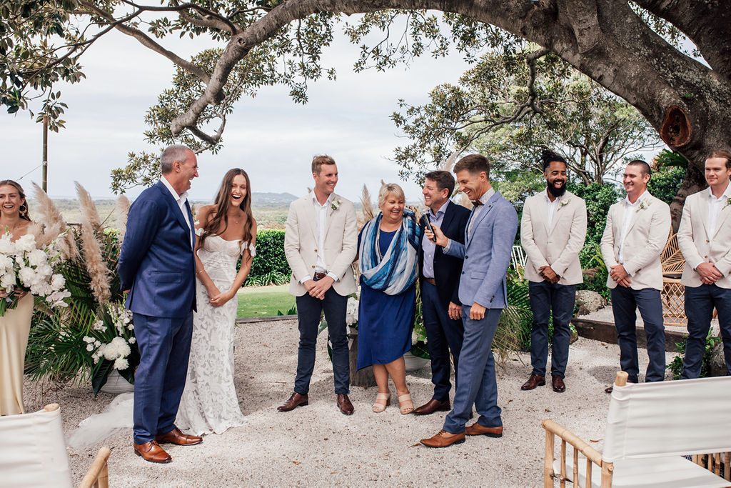 Tarsh & Steve - Benjamin Carlyle - Young Byron Bay Wedding Celebrant