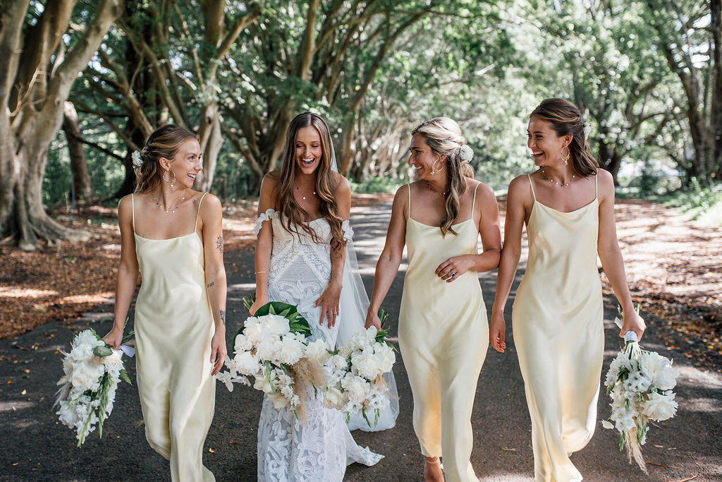 Bridal Squad - Figtree Restaurant - Byron Bay Wedding